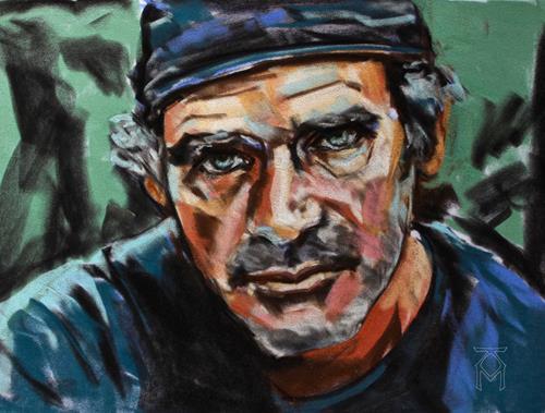 Martin Künne, Kopfstudie No. 7, Menschen: Mann, Menschen: Porträt, Gegenwartskunst, Expressionismus
