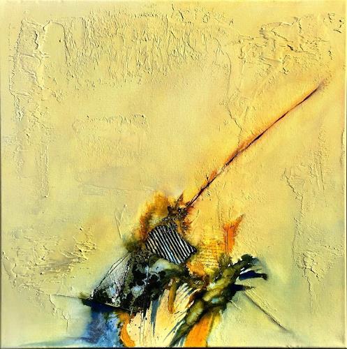 Sandra Dürr, oasis 2, Abstraktes, Abstrakte Kunst