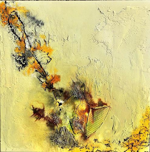 Sandra Dürr, oasis 1, Abstraktes, Abstrakte Kunst