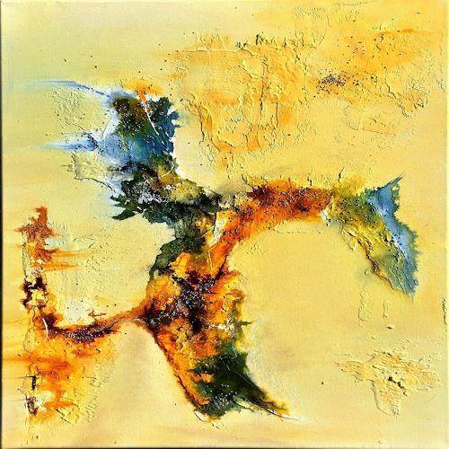 Sandra Dürr, oasis 3, Abstraktes, Abstrakte Kunst