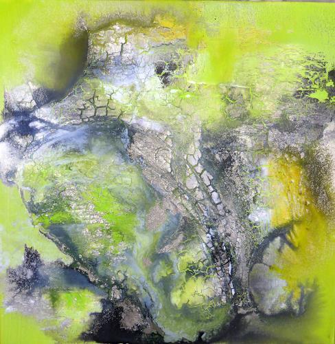 Sandra Dürr, O/T, Abstraktes, Abstrakte Kunst