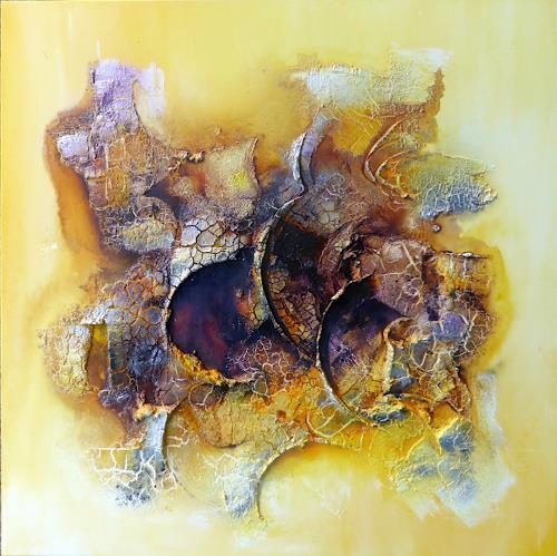 Sandra Dürr, fragile world, Abstraktes, Abstrakte Kunst, Expressionismus