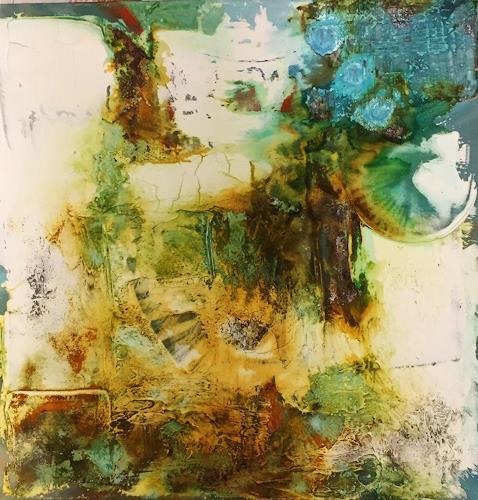 Sandra Dürr, Im wandel der Zeit, Abstraktes, Abstrakte Kunst, Abstrakter Expressionismus