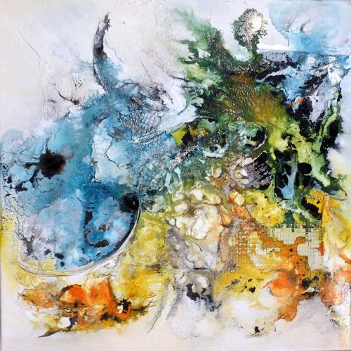 Sandra Dürr, allow, Abstraktes, Abstrakte Kunst