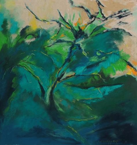Karin Goeppert, California on my Mind, Landschaft, Abstraktes, Gegenwartskunst