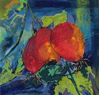 Karin-Goeppert-Pflanzen-Fruechte-Pflanzen-Gegenwartskunst-Neo-Expressionismus