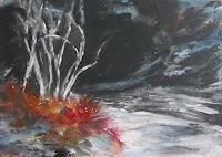 Karin-Goeppert-Landschaft-See-Meer-Abstraktes-Gegenwartskunst-Gegenwartskunst