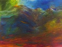 Karin-Goeppert-Landschaft-Berge-Abstraktes-Moderne-Expressionismus