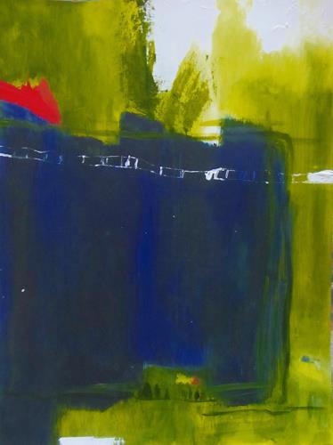 Karin Goeppert, On the Road, Abstraktes, Abstraktes, Gegenwartskunst