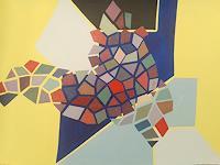 Nikos-Lamprinos-Abstraktes-Landschaft-Tropisch-Moderne-Expressionismus-Neo-Expressionismus
