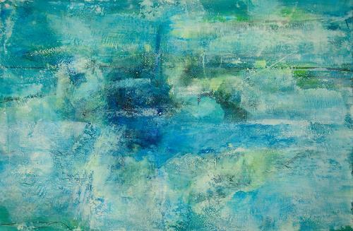 Christine Claudia Weber, Himmel und Erde, Natur, Landschaft, Gegenwartskunst