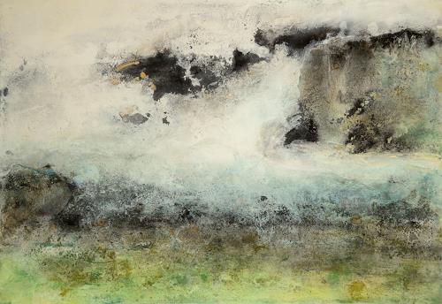 Christine Claudia Weber, Island, Abstraktes, Natur, Gegenwartskunst