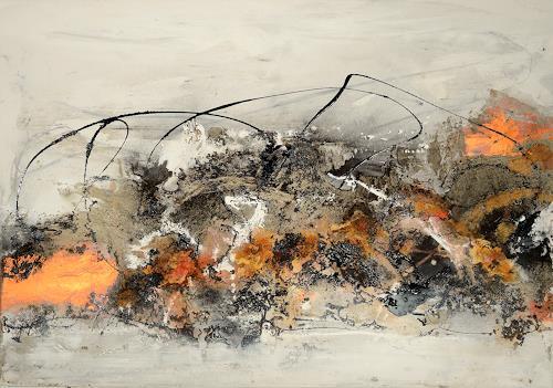 Christine Claudia Weber, OT, Fantasie, Gefühle, Gegenwartskunst, Abstrakter Expressionismus