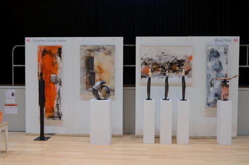 Christine Claudia Weber, Arte Binningen 2016, Abstraktes, Gegenwartskunst