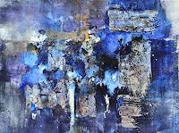 Christine-Claudia-Weber-Abstraktes-Landschaft-See-Meer-Moderne-Abstrakte-Kunst