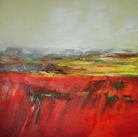 Christine-Claudia-Weber-Landschaft-Landschaft-Sommer-Moderne-Abstrakte-Kunst