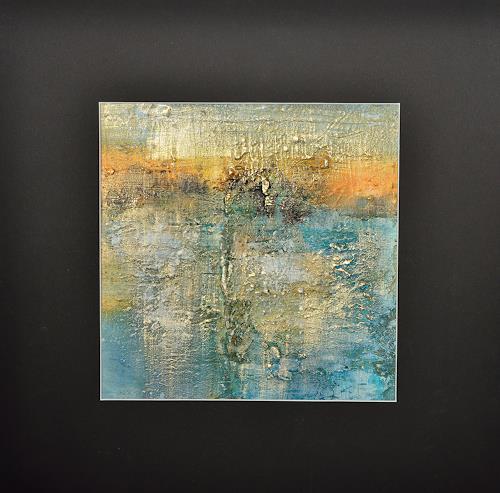 Christine Claudia Weber, Goldener Herbst, Landschaft, Abstraktes, Abstrakte Kunst