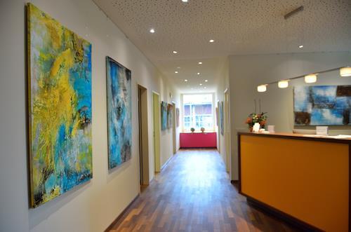 Christine Claudia Weber, Aktuelle Ausstellung, Abstraktes, Natur, Abstrakte Kunst