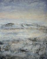 Christine-Claudia-Weber-Landschaft-Winter-Abstraktes-Gegenwartskunst-Gegenwartskunst