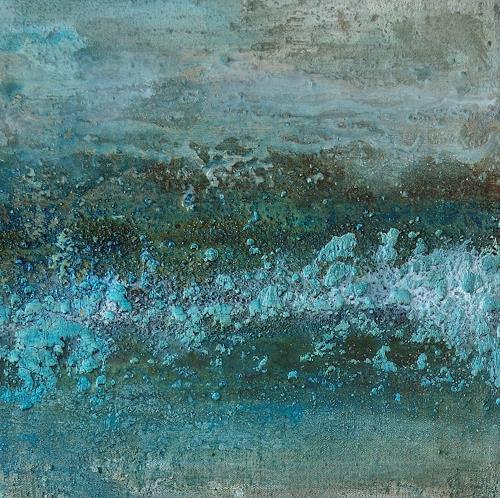 Christine Claudia Weber, OT, Landschaft: Herbst, Natur: Erde, Gegenwartskunst, Expressionismus