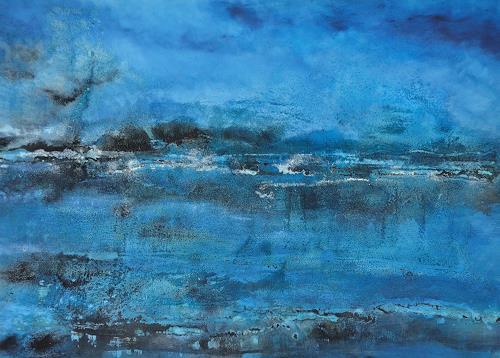 Christine Claudia Weber, OT, Landschaft, Natur: Wasser, Gegenwartskunst