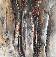 Christine-Claudia-Weber-Natur-Natur-Feuer-Moderne-Expressionismus-Abstrakter-Expressionismus