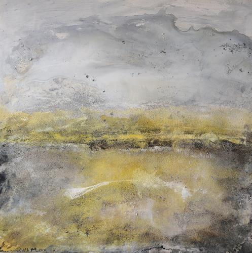 Christine Claudia Weber, OT, Abstraktes, Landschaft, Abstrakter Expressionismus, Expressionismus