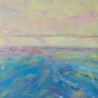 Christine-Claudia-Weber-Abstraktes-Landschaft-Moderne-expressiver-Realismus
