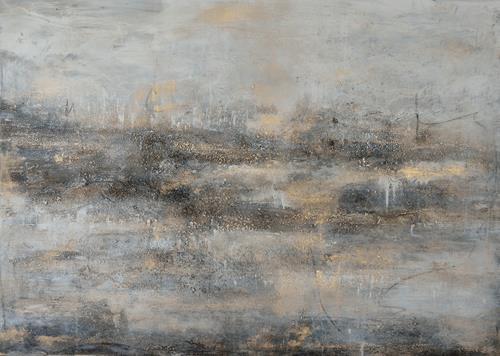 Christine Claudia Weber, Ohne Titel, Landschaft, Natur: Wasser, Abstrakte Kunst, Expressionismus