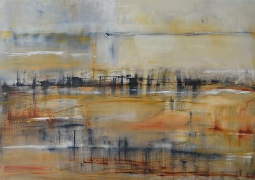 Christine Claudia Weber, Ohne Titel, Landschaft, Abstraktes, Gegenwartskunst