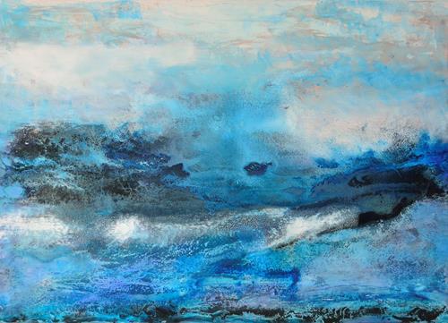 Christine Claudia Weber, Ohne Titel, Abstraktes, Natur, Abstrakte Kunst