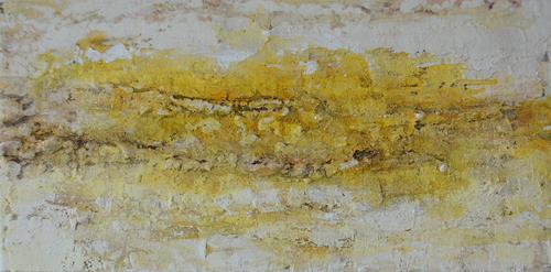Christine Claudia Weber, Sonnenschein, Abstraktes, Landschaft, Abstrakte Kunst