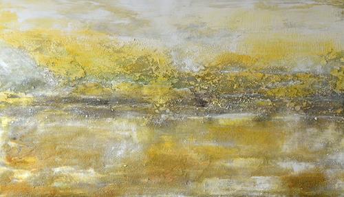 Christine Claudia Weber, Auftragsarbeit, Abstraktes, Landschaft, Abstrakte Kunst, Expressionismus