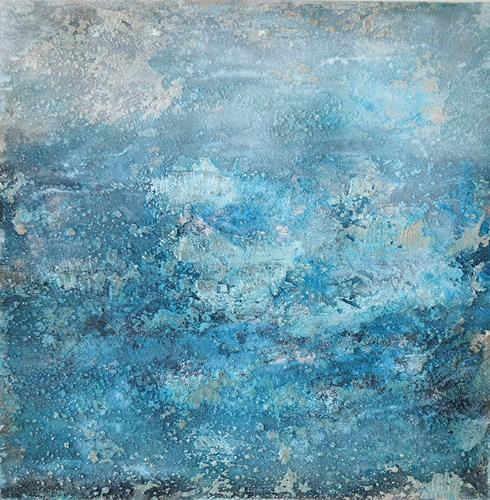 Christine Claudia Weber, Island, Abstraktes, Natur, Abstrakte Kunst