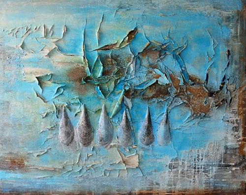 Christine Claudia Weber, Ohne Titel, Abstraktes, Natur, Abstrakte Kunst, Abstrakter Expressionismus