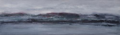 Christine Claudia Weber, Ohne Titel, Landschaft, Abstraktes, Abstrakte Kunst