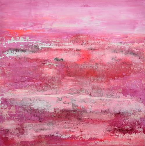 Christine Claudia Weber, Kirchblüten, Abstraktes, Landschaft, Abstrakte Kunst