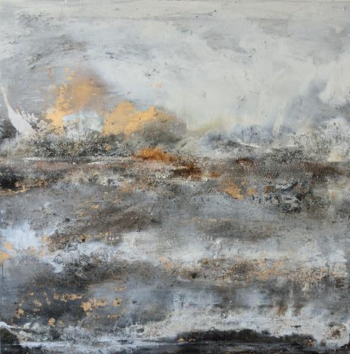 Christine Claudia Weber, Ohne Titel, Abstraktes, Landschaft, Abstrakter Expressionismus, Expressionismus