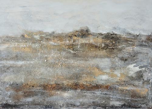 Christine Claudia Weber, Island, Abstraktes, Landschaft, Abstrakte Kunst