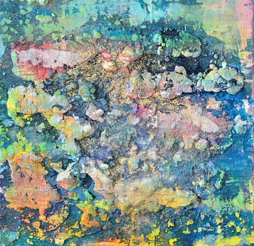 Christine Claudia Weber, Freiheit, Abstraktes, Fantasie, Abstrakte Kunst, Expressionismus