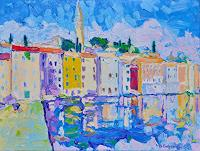 deniskujundzicart-Landschaft-Architektur-Moderne-Impressionismus-Neo-Impressionismus