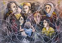 K. Petricevic, Flüchtlinge