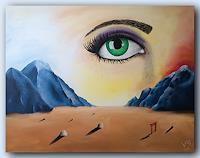 Volker-Senzel-Landschaft-Berge-Fantasie-Gegenwartskunst-Postsurrealismus