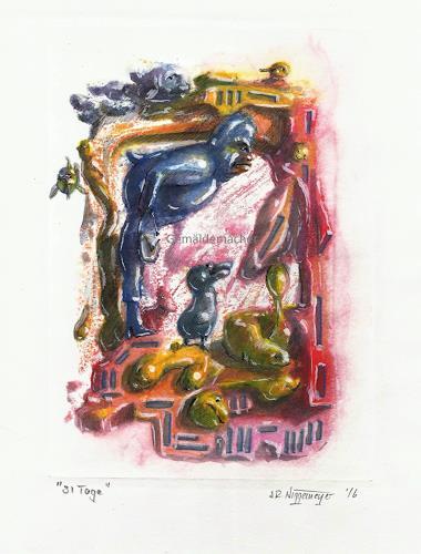 Joachim JORI Niggemeyer, Die Liebe, und der Weg in eine angemessene Zeit, Gefühle: Liebe, Symbolismus