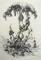 Wilhelm-Laufer-Fantasie-Skurril-Gegenwartskunst-Postsurrealismus