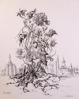 Wilhelm-Laufer-Pflanzen-Blumen-Stilleben-Moderne-Moderne