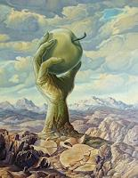 Wilhelm-Laufer-Natur-Erde-Symbol-Moderne-Avantgarde-Surrealismus