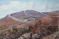 Wilhelm-Laufer-Landschaft-Huegel-Natur-Erde-Neuzeit-Realismus