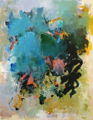 Thomas Steyer, Wilsberg, Abstraktes, Gefühle: Freude, Abstrakter Expressionismus