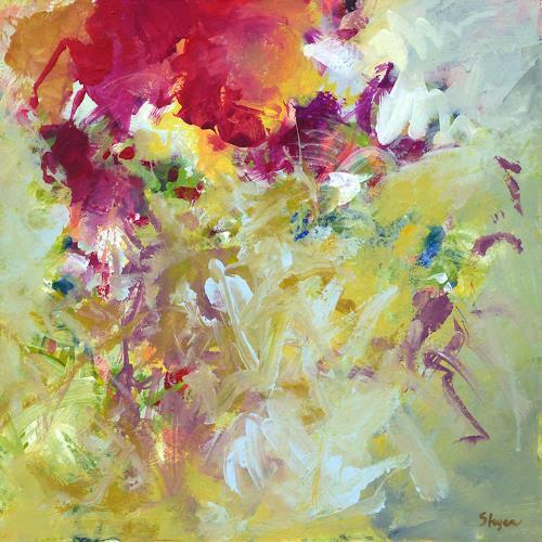 Thomas Steyer, Die Dressur, Abstraktes, Gefühle, Abstrakter Expressionismus
